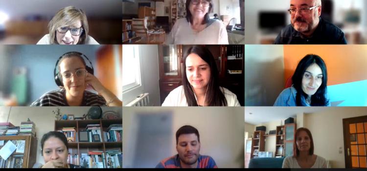 Elisenda Adervol acompaña al equipo del Proyecto EDIGA para conversar sobre etnografía digital